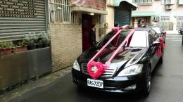 竹北周先生娶妻迎親車隊